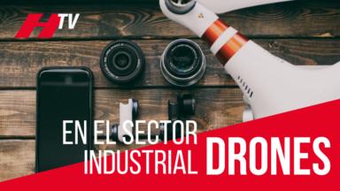 Drones en el sector industrial