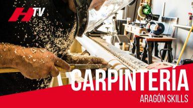 Carpintería en el Campeonato de Formación Profesional Aragón Skills