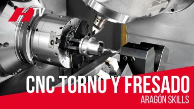 CNC Torneado y Fresado en Aragón Skills