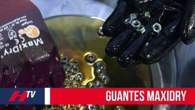 Guantes de trabajo Maxidry resistentes al aceite y humedad