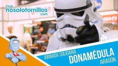 Jornada Solidaria Dona Médula Aragón en Suministros Herco