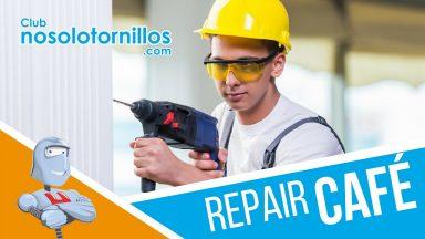 I Repair Cafe en nuestras instalaciones de Cuarte de Huerva (Zaragoza)